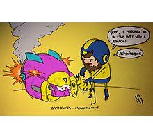 Game Grumps - Pikachu Photographic Print