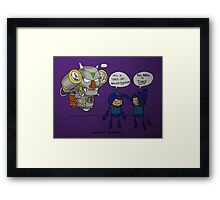 Game Grumps - Tinky Framed Print