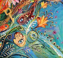 Original painting fragment 21 by Elena Kotliarker
