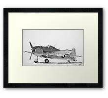 Grumman F6F Hellcat  Framed Print