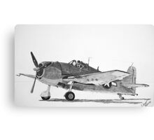 Grumman F6F Hellcat  Canvas Print