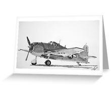 Grumman F6F Hellcat  Greeting Card