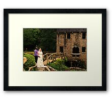 bride and groom 5 Framed Print