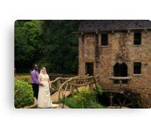 bride and groom 7 Canvas Print