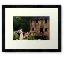 bride and groom 8 Framed Print
