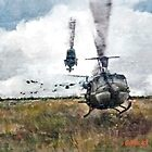 """Huey"" Bell UH-1 Iroquois  by Dave Black"
