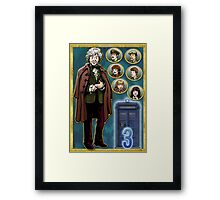 Scientific Advisor to U.N.I.T. Framed Print
