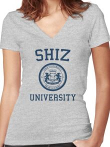 Shiz University - Wicked Women's Fitted V-Neck T-Shirt