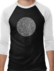 lunar heart Men's Baseball ¾ T-Shirt