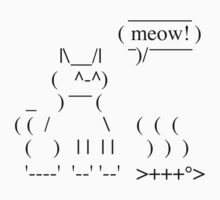 Ascii Cat Kids Clothes