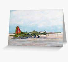 "Thunderbird B17G Boeing ""Flying Fortress"" Greeting Card"