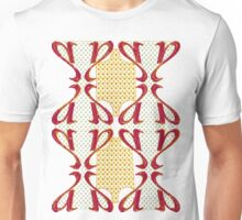 Cross-stitch design Unisex T-Shirt