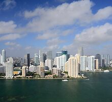 Downtown Miami by Kasia-D