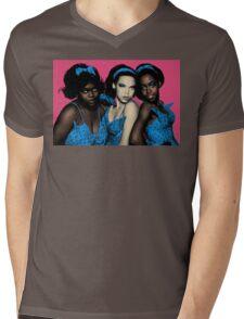 Little Shop of Horrors Chorus Musical - Full Color Mens V-Neck T-Shirt