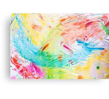 Colourful abstraction Canvas Print