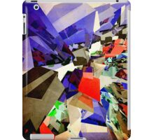 Colorful Abstract Geometric Cluster iPad Case/Skin