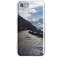 Sun shining on road iPhone Case/Skin