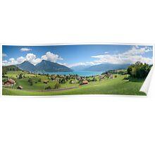 Faulensee, Switzerland Poster