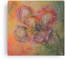 Come Back As A Flower Canvas Print