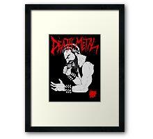Death Metal Guttural Growl Framed Print