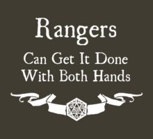Rangers can get it done with both hands T-Shirt