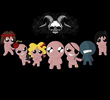 The Binding of Isaac - Choose your destiny - HIGH QUALITY by Hometownheroes