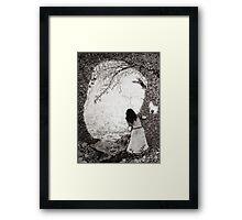 Wendy in Neverland Framed Print