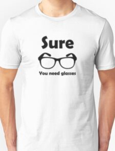 Hipster Glasses Blur T-Shirt