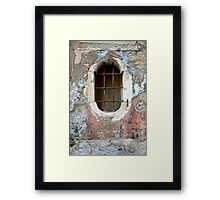 She Was Rough Around The Edges... Framed Print