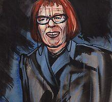 portrait of Linda Hunt by resonanteye