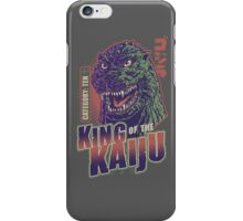 King of the Kaiju iPhone Case/Skin