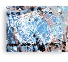 Fragmentalize - Ice Crystals Canvas Print