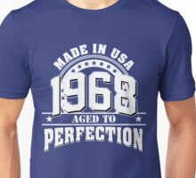 1968 - aged to perfection Unisex T-Shirt