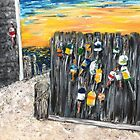 Buoys - Cape Cod by Kimberly  Daigle