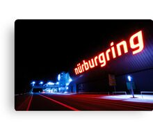 Nürburgring by night Canvas Print