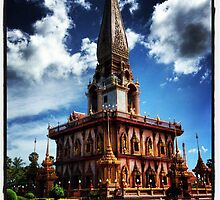 Chalong temple, Thailand. by Xtal22