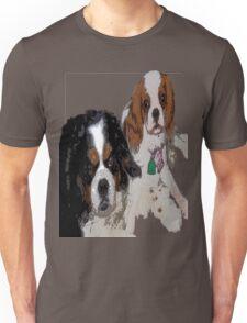 Cavalier King Charles dogs Unisex T-Shirt