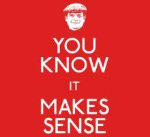 Del Boy: You Know It Makes Sense Kids Clothes