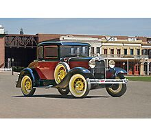 1930 Ford Model A 'Rumble Seat' Coupe Photographic Print