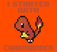 I Started With Charmander Kids Clothes