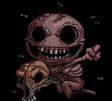 The Binding of Isaac - Famine the horseman - HIGH QUALITY by Hometownheroes