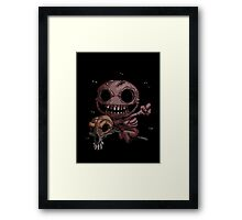 The Binding of Isaac - Famine the horseman - HIGH QUALITY Framed Print