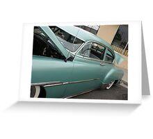 1951 Fleetline; Historical Front Street 12th Annual Car Show, Norwalk, CA USA Greeting Card