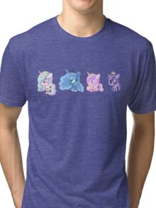 Weeny My Little Pony- Princesses Tri-blend T-Shirt