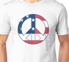 American Peace Symbol Unisex T-Shirt