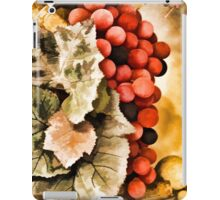 Grapes And Leaves iPad Case/Skin
