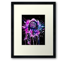 Shaping Dreams (Black) Framed Print