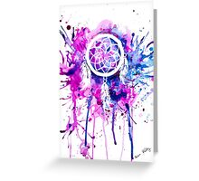Shaping Dreams (White) Greeting Card