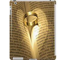 Love Never Fails iPad Case/Skin