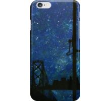 Peter Pan skyline iPhone Case/Skin